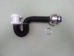 021.Universal Flex Pedestal Sink-trap plastic, brass drain
